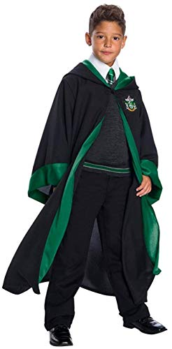 Charades Slytherin Student Children's Costume, As Shown,