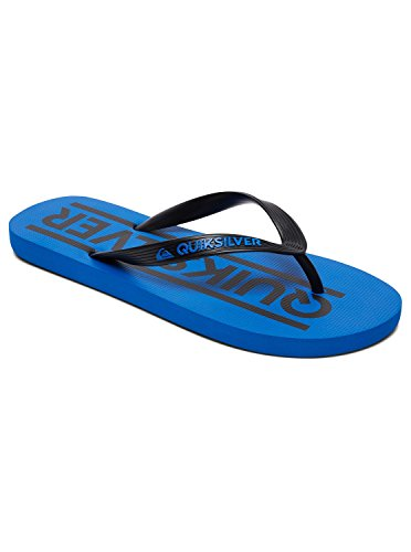 Quiksilver Men's Java Wordmark Beach and Pool Shoes Black (Black/Blue/Black Xkbk) 49SgtSjH