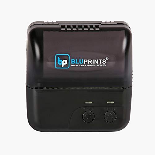 BluPrints Bluetooth/USB Enabled Mobile Thermal Receipt Printer  3 Inch/80 mm