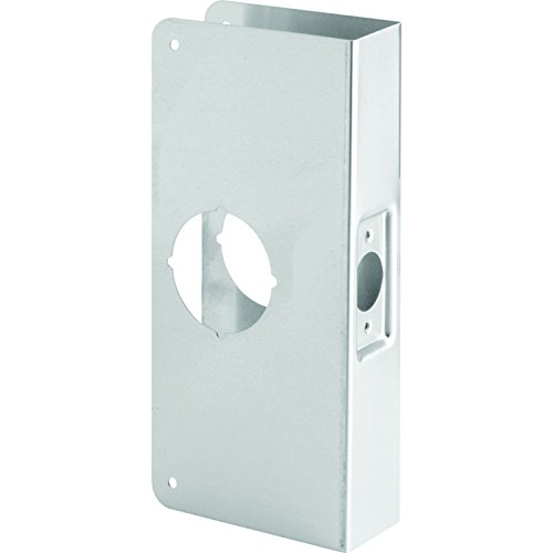Door Entry Flush (Prime-Line MP9552 Lock and Door Reinforcer, 2-1/8in x 2-3/4in x 1-3/4in, Stainless Steel, Recessed, Pack of 1)