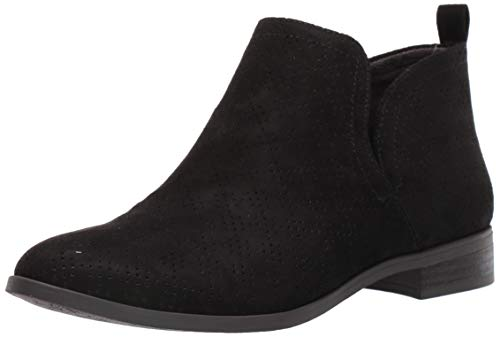 Dr. Scholl's Shoes Women's Rise Ankle Boot, Black Microfiber Perforated, 8.5 M US in USA