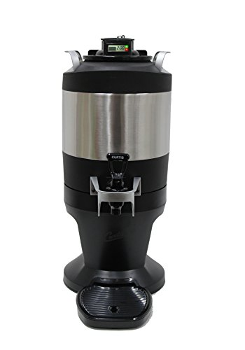 1 Gallon Thermal Dispenser - Wilbur Curtis Thermal Coffee Dispenser (1.0 GALLON) with TFT Technology - Made for ThermoPro Coffee Brewers - Commercial Coffee and Beverage Dispenser - TFT1G (Each)
