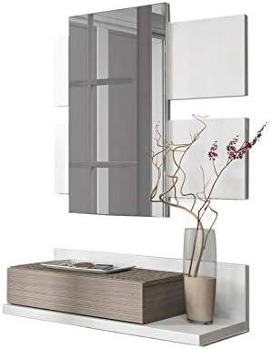 Habitdesign 0B6742BO - Recibidor con cajón + Espejo, Color ...