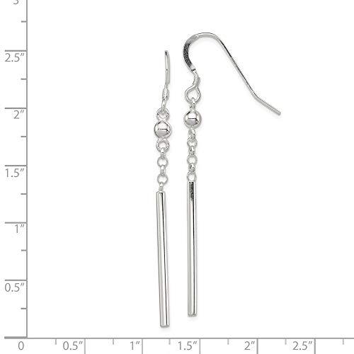 e333fa5e4 ... 925 Sterling Silver Bar Drop Dangle Chandelier Earrings Fine Jewelry  Gifts For Women For Her ...