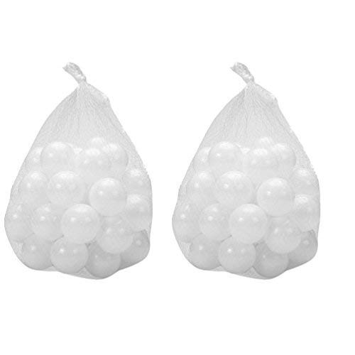 echonyフタル酸フリーBPAフリー、Crush Proofプラスチックボール、Pitボール – 200個パックボール、   B076CJPPXF