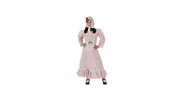 DISBACANAL Disfraz madrileña niña - -, 7-9 años: Amazon.es ...