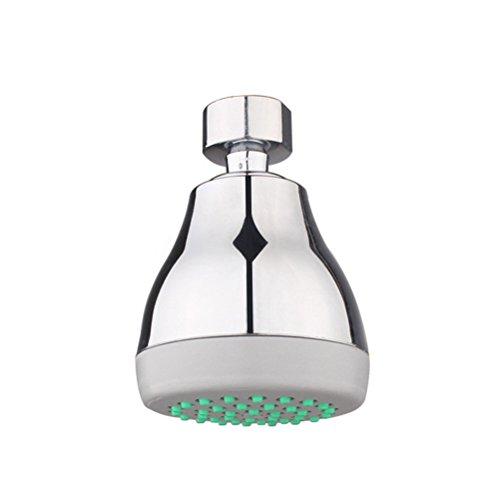BESTOMZ Shower Head Water Saving Bathroom Shower Nozzle Sprinkler Universal Fitting 3 Inch