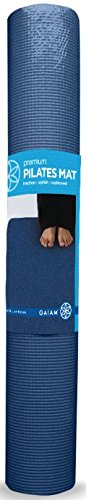 Gaiam 600 0006NAVY Premium Pilates Mat