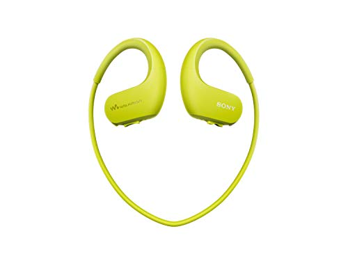Sony Water Resistant Walkman, 4Gb , Lime Green, Nw-Ws413/Gm E