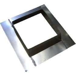 Single Wall Galvanized 13.5'' Square Roof Jack