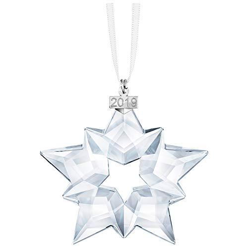 SWAROVSKI Annual Edition Ornament 2019, 7.5 X 7.2 X 0.9 cm, White