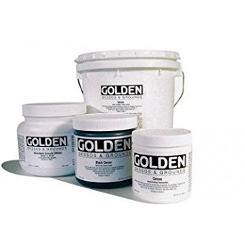 Golden Acrylic 32oz Black Gesso by Golden