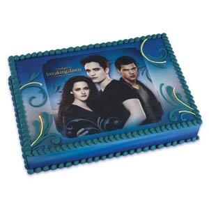 Twilight Final Saga Edible Image Cake Art / 1 image, Health Care Stuffs