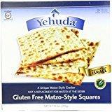 Yehuda Gluten Free Matzo Style Crackers Kosher For Passover 10.5 oz. Pack of 6