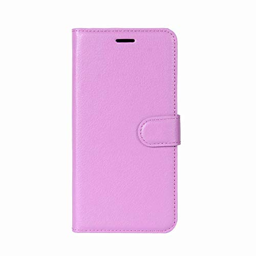 Price comparison product image IPhone XS Max Case,  Buybuybuy Ultra-Thin Stylish Elegant Leather Wallet Case [Detachable Folio] Flip Folio Book Cover Kickstand Feature for Apple IPhone XS Max 6.5 inch (Purple)