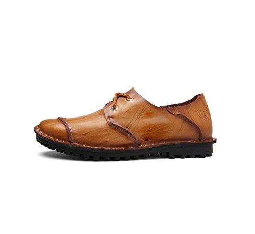 zmlsc Chaussures De Sport Pour Hommes Chaussures De La Vie Printemps Eté Automne Hiver Ceinture Froid Femme Bovins Business Black sJYQd