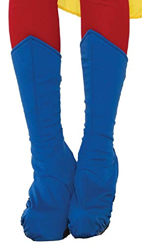 Forum Adult Blue Super Hero Boot Tops]()
