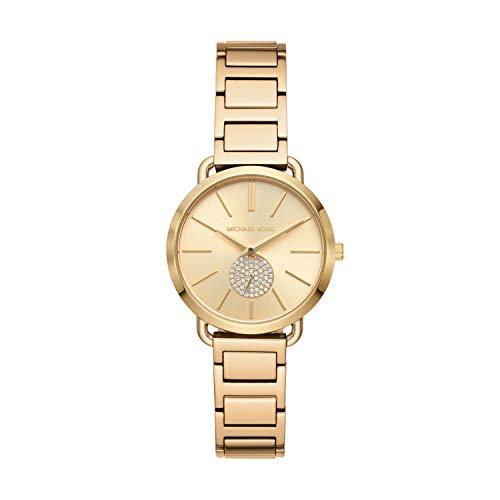 Michael Kors Women's Portia Gold-Tone Watch MK4330