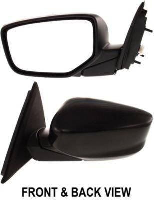Kool Vue HD58EL Mirror Corner mount Type Driver Side LH Plastic Primered Power Manual folding