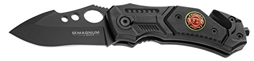 Boker Magnum 01RY247 Black Spear Knife with 3 7/8 in. 440C S