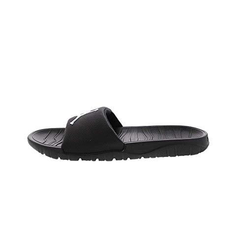 Jordan AR6374-001: Men's Black/White Break Shower Slides (9 D(M) US Men) (Jordan Sandalias)