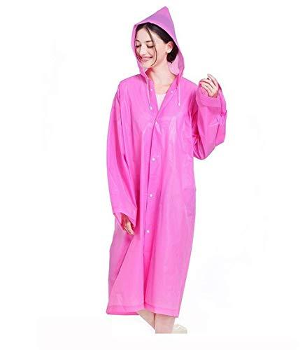 Ragazza Ragazza Ragazza Jacket Raincoat Outdoor Poncho Fashion Rain Unita Eva Tinta Tinta Tinta Tinta 1 Huixin Women Raincoat Cappuccio in Impermeabile Adult con 8qvnBcx5