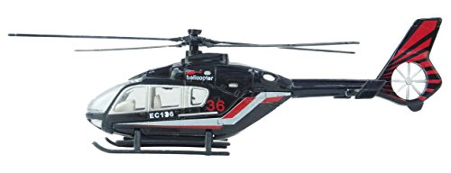 Diecast Helicopter - 20cm Diecast Metal Helicopter 1:64 Scale - 1 Picked At Random