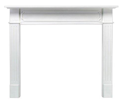 pearl mantels berkley 48inch paint grade fireplace mantel white