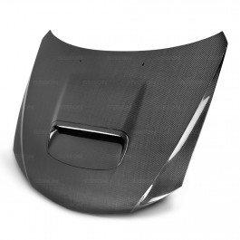 Seibon Carbon Fiber OEM-Style Hood Subaru WRX STI - Seibon Oem Oem Hoods