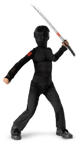 [Snake Eyes Classic - Size: Child M(7-8)] (Cobra Snake Halloween Costumes)