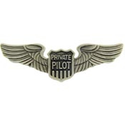 (Private Pilot Wings Pin 2 7/8