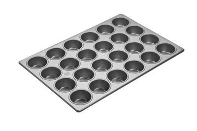Focus Foodservice Commercial Bakeware 24 Count 2-3/4-Inch-Cupcake Pan, 18 by 26-Inch