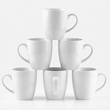 Amuse- Professional Barista Cozy Collection  Mug- Set of 6 (Medium - 12 oz.)