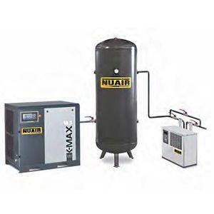 Compresor de aire de tornillo Silencioso sécheur 15 CV 500 L 10 bar NuAir