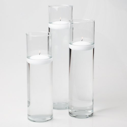 Eastland Tall Cylinder Vases Set of 18