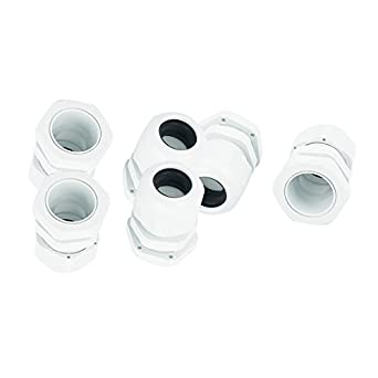 DealMux 10 Pcs PG16 Waterproof Locknut Recheio 10-14mm Gland conector do cabo: Amazon.com: Industrial & Scientific