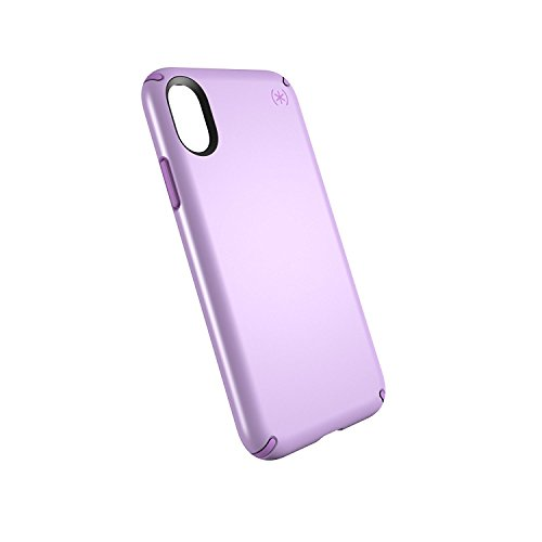 Speck Products Presidio Metallic Case for iPhone X, Taro Purple Metallic/Haze Purple (Speck Purple Case)