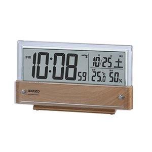 SEIKO液晶電波時計 092-04B [簡易パッケージ品] B0785X72SD