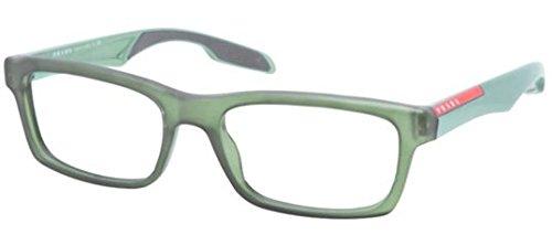 Prada Sport PS07CV Eyeglasses-SMK/1O1 Matte Transparent - Outlet Prada