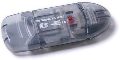 DB USB 2.0 SD / SDHC / MMCカードリーダー/ライター – ブラック