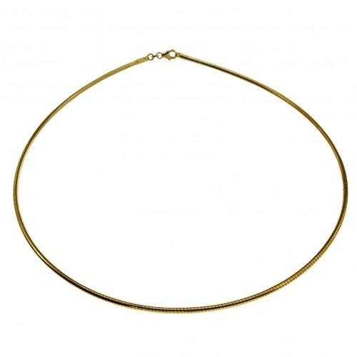 Omega Collier Femme avec fermeture à vis en or 33342cm