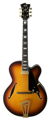 FGN Masterfield - Jazz semiaku Stik de guitarra jazz Burst: Amazon ...
