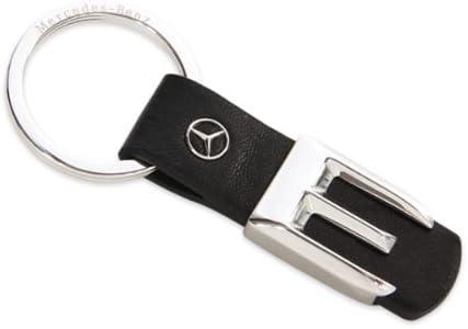 Original Mercedes Benz E Klasse Leder Schlüsselanhänger Auto