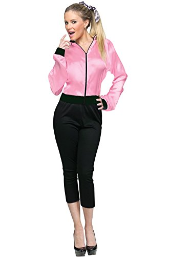 Fun World Women's 50's Ladies Jacket, Pink, M/L Size ()