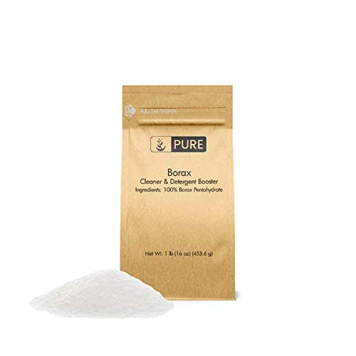 Borax Powder (1 lb.) by Pure Organic Ingredients, Pure Borax, Multipurpose Cleaning Agent, Ideal Slime Ingredient (Boric Acid And Sugar Recipe For Ants)