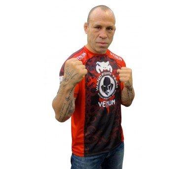 "Venum Wanderlei Silva ""UFC 147 Stroll-Out"" T-shirt – Black/Red – DiZiSports Store"