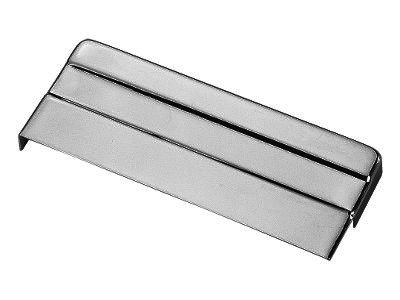 CHROME BATTERY COVER TOP FOR HARLEY SPORTSTER FX XL REPL OE 66070-83T