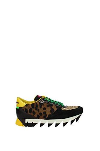 Dolce & Gabbana Sneakers Kvinder - Pony Fur (ck0079ae312) Eu Flerfarvet kbliS6r6QG