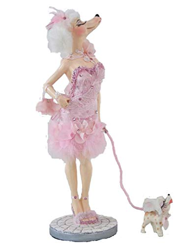 Katherine's Collection Fifi Pink Poodle Figure 12