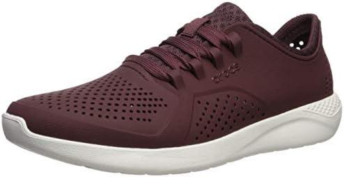 LiteRide Pacer Sneaker, Burgundy/White